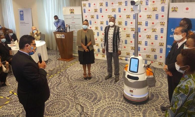 Anti-pandemic robots