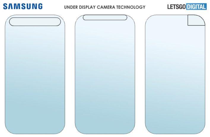 Samsung Under-Display Camera patent