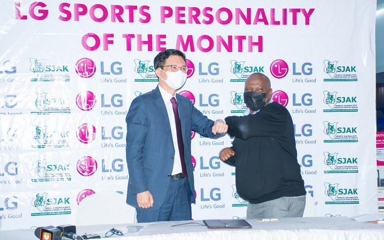 LG partners with SJAK for Sport Personality of the Month Award