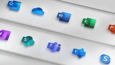 New Office app icons