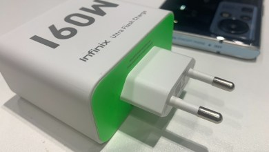 Infinix 160W fast charge tech