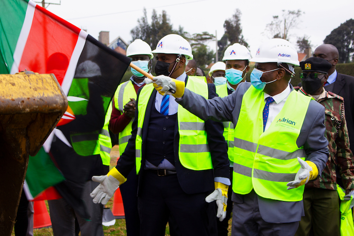 Adrian Kenya Launches its Fibre Infrastructure Relocation project