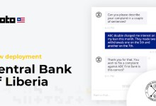 Central Bank of Liberia deploys chatbot to expand access to financial consumer protection