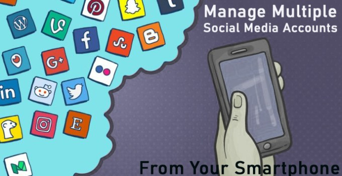 Multiple-Social-Media-accounts-management-app