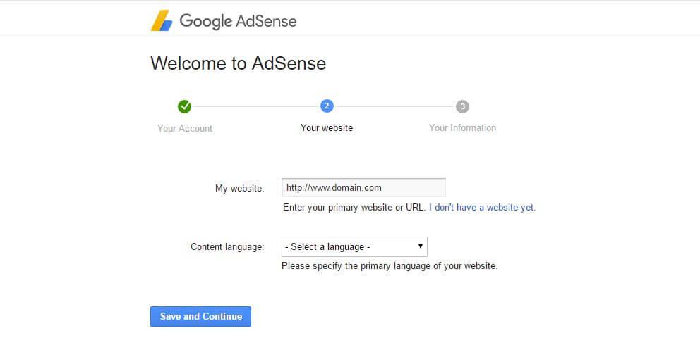 Welcome to Adsense