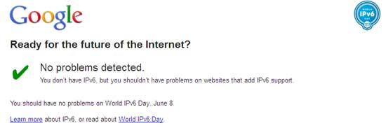 Google-IPV6-test