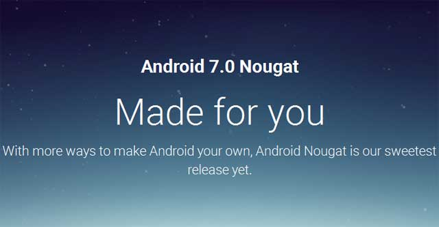 Android 7 0 Nougat Stable Version Released (Download and