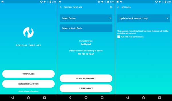 Official TWRP App Released (How to Install TWRP Recovery