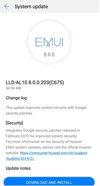 Honor 9 Lite February 2019 Security Patch Update Released (Android