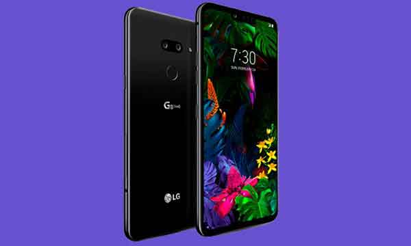 Like the colorful wallpaper, the LG G8 ThinQ is also colorful, compact, and features the 3D sensor Hand ID and Air Motion controls.