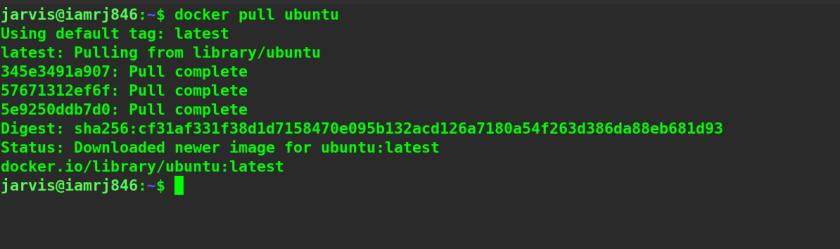 Docker Pull Command in Docker Images