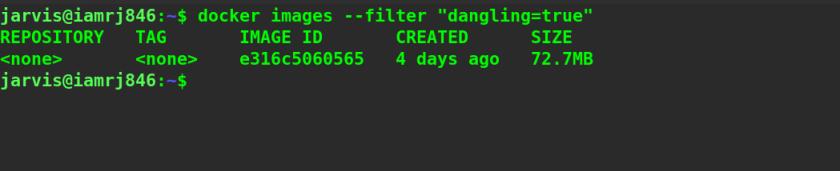 Filtering Dangling Images