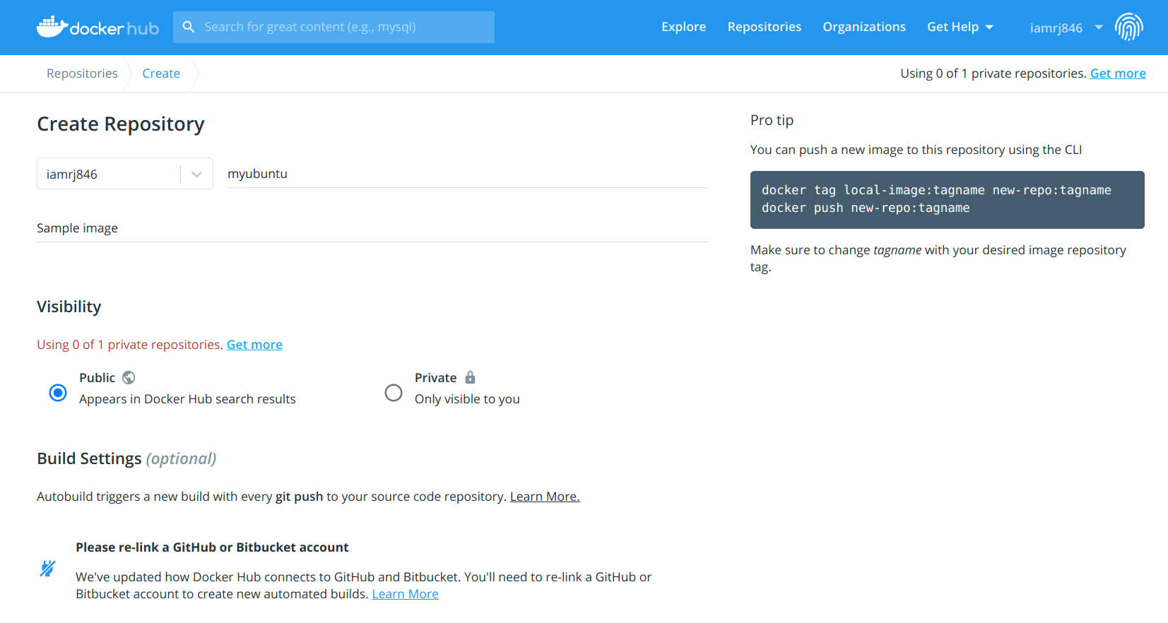 Docker Push   How to push Docker Images to Dockerhub