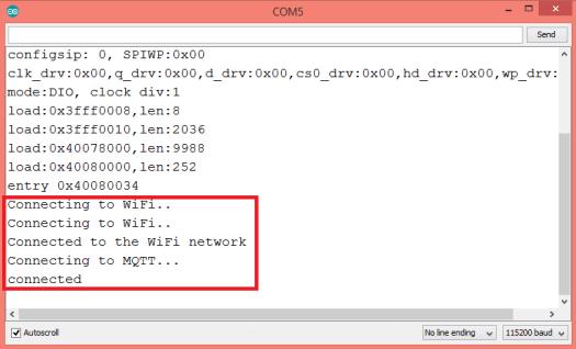 ESP32 connection to MQTT broker