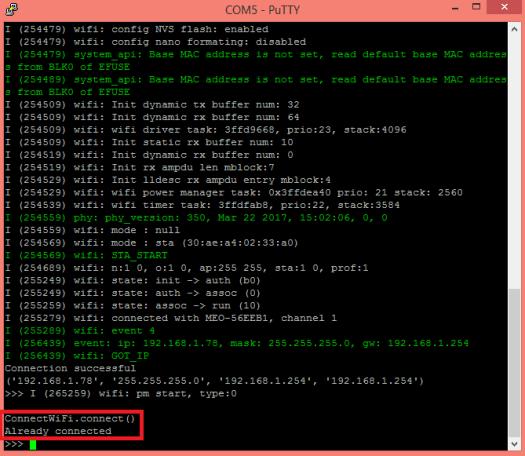 ESP8266 ESP32 MicroPython Already Connected to WiFi