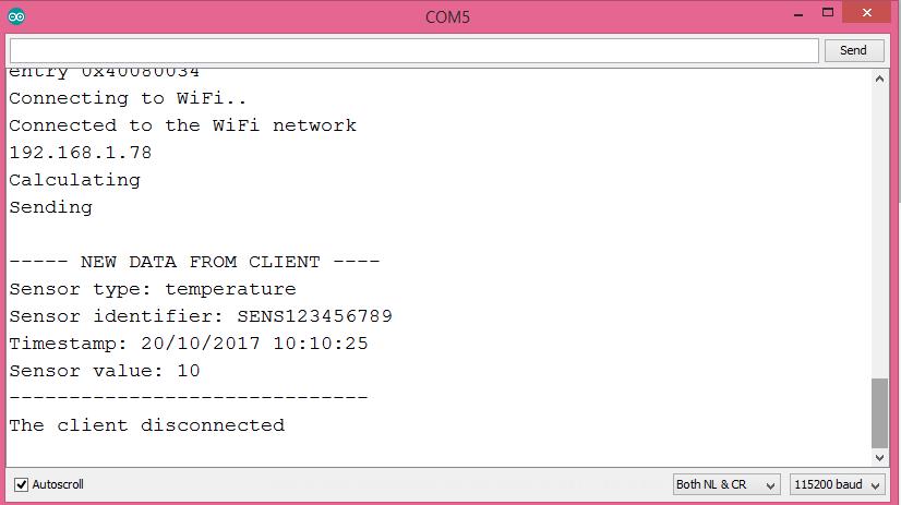 ESP32 Arduino Websocket Server parsing JSON