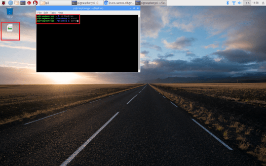 Scrot raspberry pi taking screenshot.png
