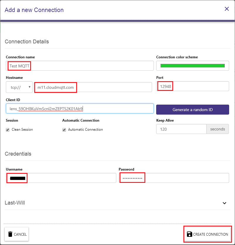 MQTTLens configuring new connection to broker.png