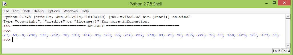Generating the Brotli compressed content for the ESP32 test using Python