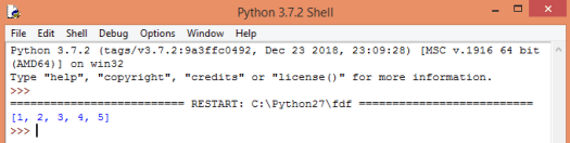 """Concatenating two lists in Python with the """"+"""" operator."""