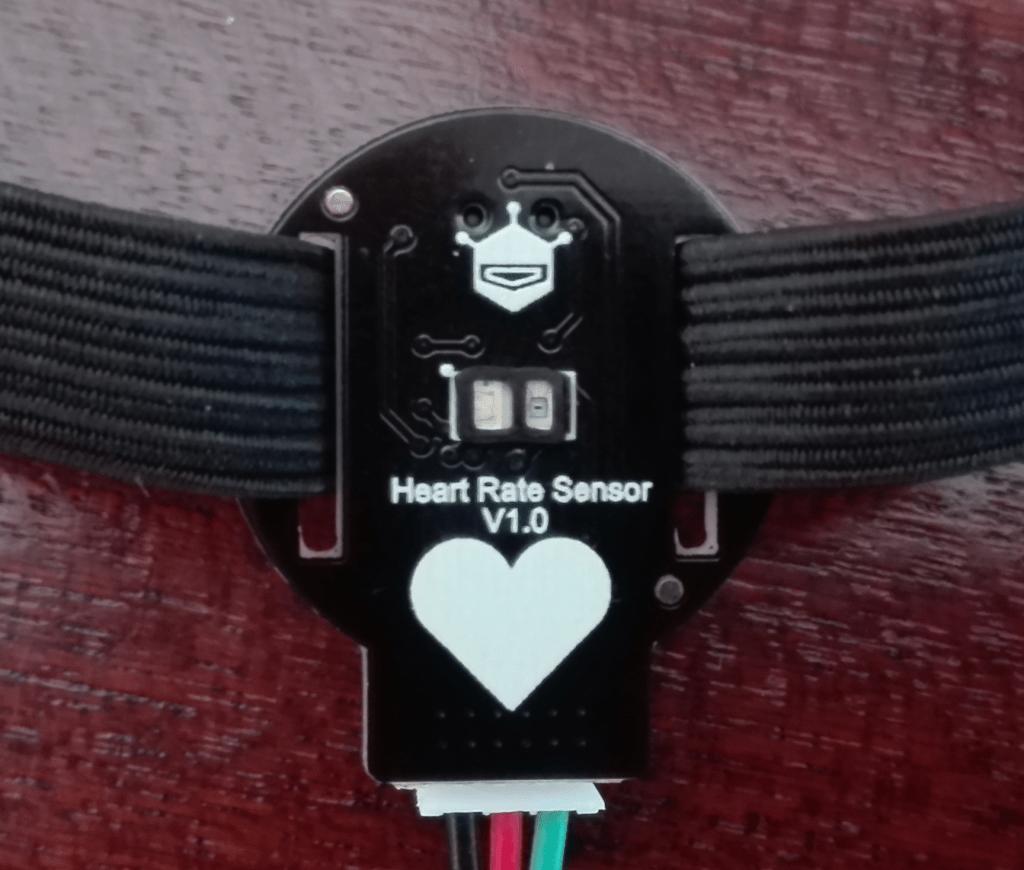 Bottom of the Heart Rate sensor module.