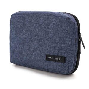 BAGSMART Electronic Organizer Small Travel Bag for Hard...