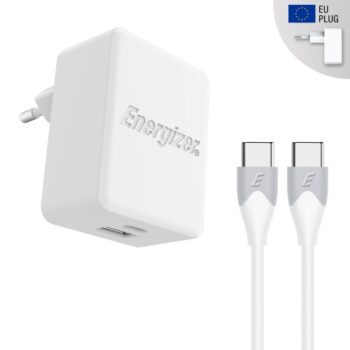 ENERGIZER Wall charger PD 30W – USB-C (Cable...