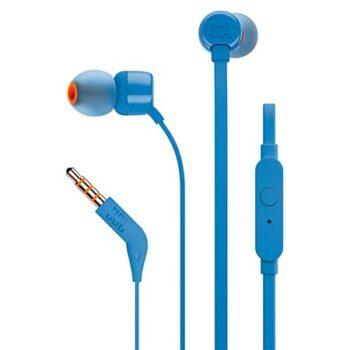 سماعة أذن JBL T110 سلكية – أزرق