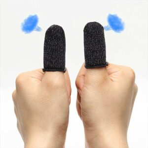 PUBG Game Controller Finger Sleeve Anti-Sweat Breathable –...
