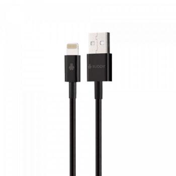 BUDDY BU-IP25 MFI USB-A To Lightning Cable 2.4A...