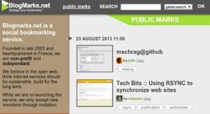 Blogmarks