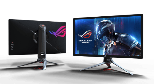 ASUS ROG-Swift PG27UQ - Front and Rear