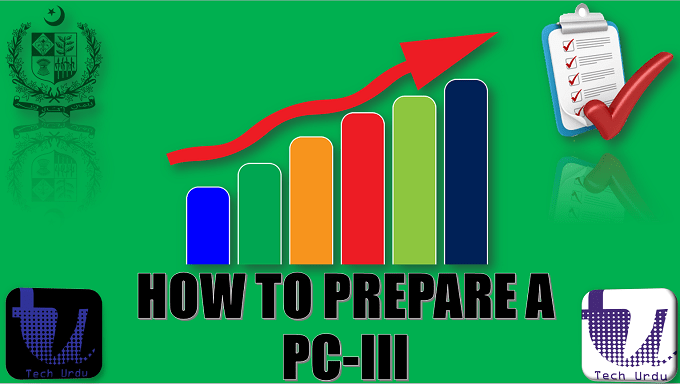 HOW TO PREPARE A PC-III(a) and PC-III(b) | PC-I TO PC-V TUTORIAL STEP BY STEP | PART 4/7 1