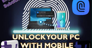 Unlock PC/Laptop with Mobile Fingerprint Reader: Samsung Flow