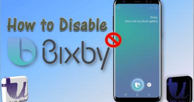 how to disable bixby dedicated key