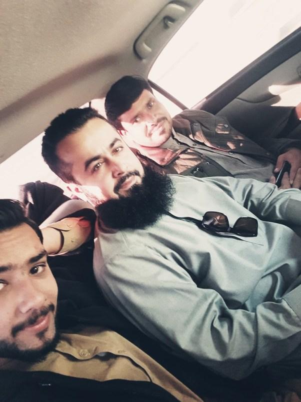 Naeem Javid - Tech Urdu - at Chaman Killa Abdullah with Noman and Shoukat 20171207_094649