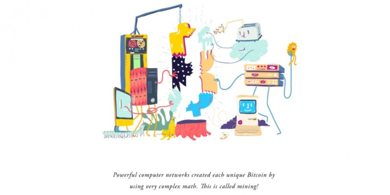 Bitcoin Illustration Powerful Computer for Mining - Tech Urdu