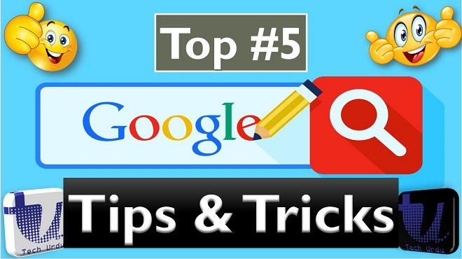 Top 5 Google Search Hack - Tech Urdu