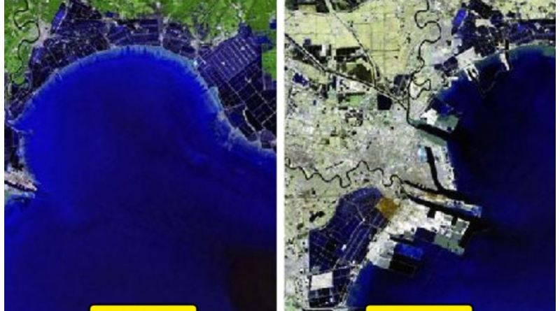 15 Photos of Earth Before and AFter - Urbanization - Tech Urdu