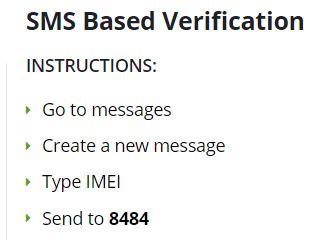 DIRBS - Mobile Verification via text message - Tech Urdu