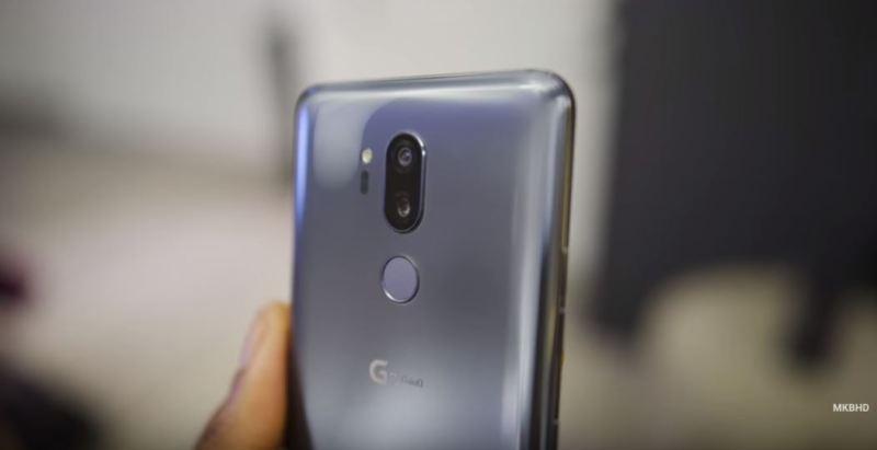 LG G7 Thinq - MKBHD - Camera - tech urdu