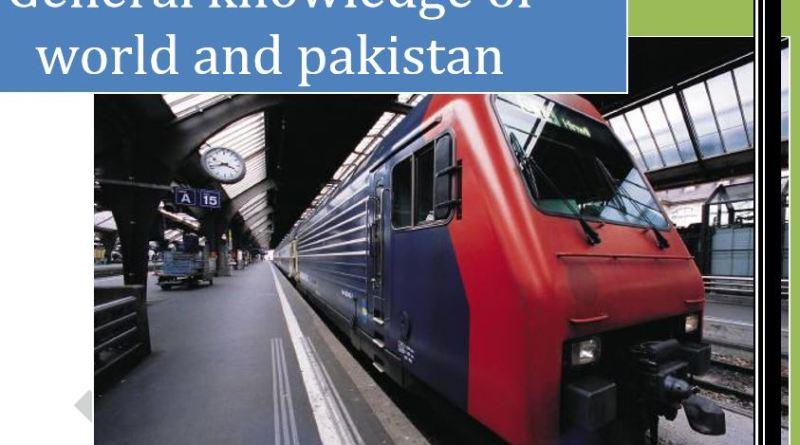 General Knowledge of World and Pakistan - Tech Urdu