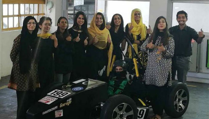 All-girls Pakistani team bags first position in Formula race car competition - Tech Urdu