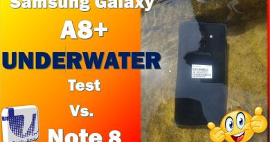 Samsung Galaxy A8/A8+ Underwater Performance