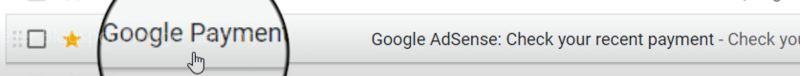 Google Adsense Mail of Blogger Blogspot Earning - Tech Urdu