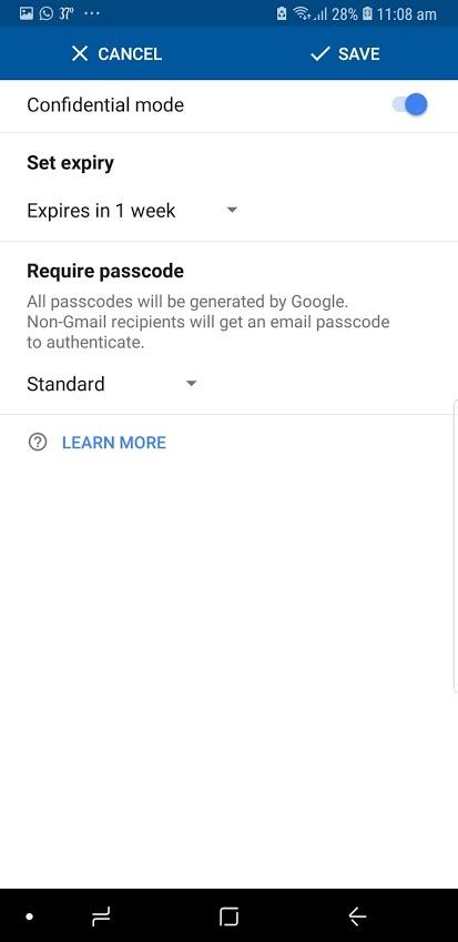Gmail Confidential Mode - Tech Urdu