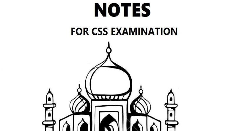 Islamic Studies Notes - For CSS Examination