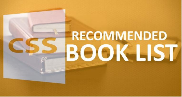 Recommended Books for CSS Preparation