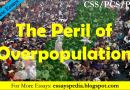 Population Peril | Complete Essay with Outline - Pakistan Case - Tech Urdu