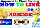 (Step-by-Step) How to Link Blogger/BlogSpot to Adsense? - Tech Urdu